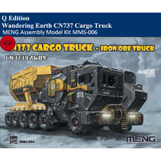MENG MMS-006 Wandering Earth CN737 Cargo Truck Q Edition Plastic Assembly Model Kits