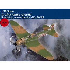 HobbyBoss 80285 1/72 Scale IL-2M3 Attack Aircraft Military Plastic Assembly Model Kits