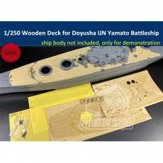 1/250 Scale Wooden Deck Masking Sheet for Doyusha IJN Yamato Battleship Model TMW00068
