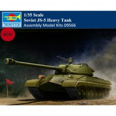 Trumpeter 09566 1/35 Scale Soviet JS-5 Heavy Tank Military Plastic Assembly Model Kits