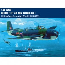 HobbyBoss 80331 1/48 Scale British Fleet Air Arm Avenger Mk.1 Plastic Aircraft Assembly Model Kit