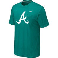 MLB Atlanta Braves Heathered Nike Green Blended T-Shirt