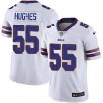 Nike Bills -55 Jerry Hughes White Stitched NFL Vapor Untouchable Limited Jersey