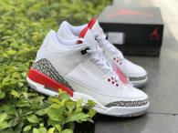 "Authentic Air Jordan 3 ""Katrina"""