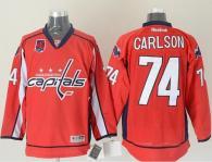Washington Capitals -74 John Carlson Red 40th Anniversary Stitched NHL Jersey