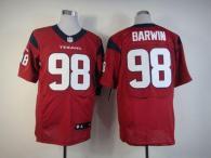 Nike Houston Texans #98 Connor Barwin Red Alternate Men's Stitched NFL Elite Jersey