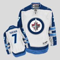 Winnipeg Jets -7 Keith Tkachuk Stitched White 2011 Style NHL Jersey