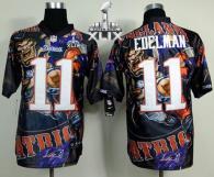 Nike New England Patriots -11 Julian Edelman Team Color Super Bowl XLIX Mens Stitched NFL Elite Fana