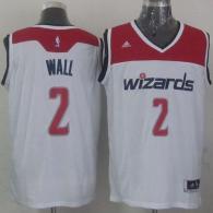 Washington Wizards -2 John Wall White 2012 Revolution 30 Stitched NBA Jersey
