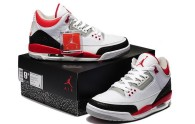 Perfect Jordan 3 Fire Red