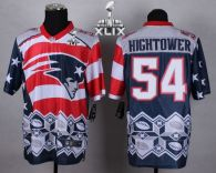 Nike New England Patriots -54 Dont'a Hightower Navy Blue Super Bowl XLIX Mens Stitched NFL Elite Nob
