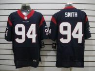 Nike Houston Texans #94 Antonio Smith Navy Blue Team Color Men's Stitched NFL Elite Jersey