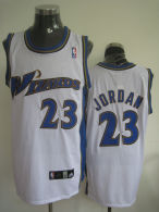Washington Wizards -23 Michael Jordan Stitched White NBA Jersey
