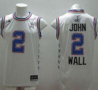 Washington Wizards -2 John Wall White 2015 All Star Stitched NBA Jersey