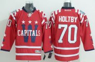 Washington Capitals -70 Braden Holtby 2015 Winter Classic Red Stitched NHL Jersey