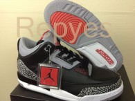 Air Jordan 3 Black Cement Perfect