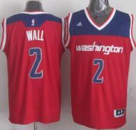 Washington Wizards -2 John Wall Red 2012 Revolution 30 Stitched NBA Jersey