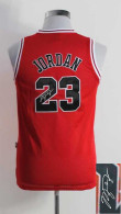 Autographed Chicago Bulls #23 Michael Jordan Black With Blue No Youth NBA Stitched Jersey