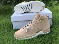 "Authentic Air Jordan 12 GS ""Vachetta Tan"""