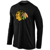 Chicago Blackhawks Long T-shirt  (1)