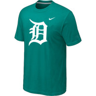 MLB Detroit Tigers Heathered Green Nike Blended T-Shirt