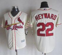 St Louis Cardinals #22 Jason Heyward Cream New Cool Base Stitched MLB Jersey