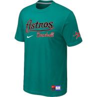 MLB Houston Astros Green Nike Short Sleeve Practice T-Shirt