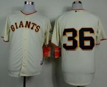 San Francisco Giants #36 Gaylord Perry Cream Home Cool Base Stitched MLB Jersey