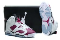 "Air Jordan 6 Retro Women ""Bright Grape""AAA"
