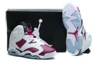 """Air Jordan 6 Retro Women """"Bright Grape""""AAA"""