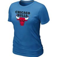 NBA Chicago Bulls Big Tall Primary Logo  Women T-Shirt (6)
