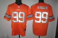 Nike Cleveland Browns -99 Paul Kruger Orange Alternate Men's Stitched NFL Elite Jersey