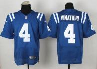 Nike Indianapolis Colts #4 Adam Vinatieri Royal Blue Team Color Men's Stitched NFL Elite Jersey