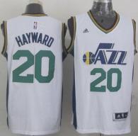 Revolution 30 Utah Jazz -20 Gordon Hayward White Stitched NBA Jersey