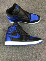 "Authentic Air Jordan 1 SATIN ""ROYAL"""