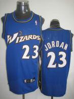 Washington Wizards -23 Michael Jordan Stitched Blue NBA Jersey