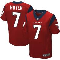 Nike Houston Texans #7 Brian Hoyer Red Alternate Men's Stitched NFL Elite Jersey
