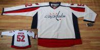 Washington Capitals -52 Mike Green Stitched White NHL Jersey