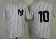 Mitchell and Ness 1952 New York Yankees -10 Phil Rizzuto Stitched White Throwback MLB Jersey