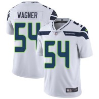 Nike Seahawks -54 Bobby Wagner White Stitched NFL Vapor Untouchable Limited Jersey