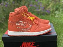 "Authentic Air Jordan 1 High OG ""Nike Air"" Vintage Coral"