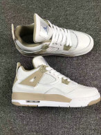 Authentic Air Jordan 4 GS Retro Sand