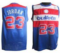 Washington Wizards -23 Michael Jordan Blue Nike Throwback Stitched NBA Jersey
