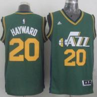 Revolution 30 Utah Jazz -20 Gordon Hayward Green Stitched NBA Jersey