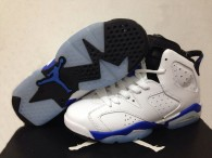 Perfect Air Jordan 6 Retro GS Sport Blue