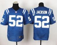 Nike Indianapolis Colts #52 D'Qwell Jackson Royal Blue Team Color Men's Stitched NFL Elite Jersey
