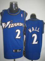 Washington Wizards -2 John Wall Stitched Blue NBA Jersey