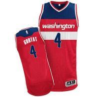 Washington Wizards -4 Marcin Gortat Red Revolution 30 Stitched NBA Jersey
