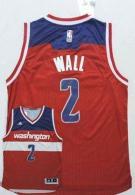 Washington Wizards -2 John Wall New Red Road Stitched NBA Jersey