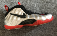 Authentic Nike Air Foamposite One Silver